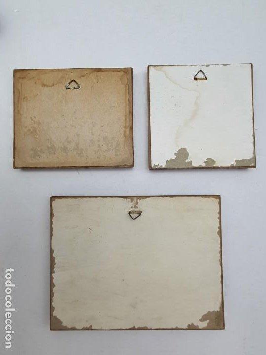 Varios objetos de Arte: LOTE PEQUEÑOS CUADROS EN CORCHO - Foto 5 - 224723617
