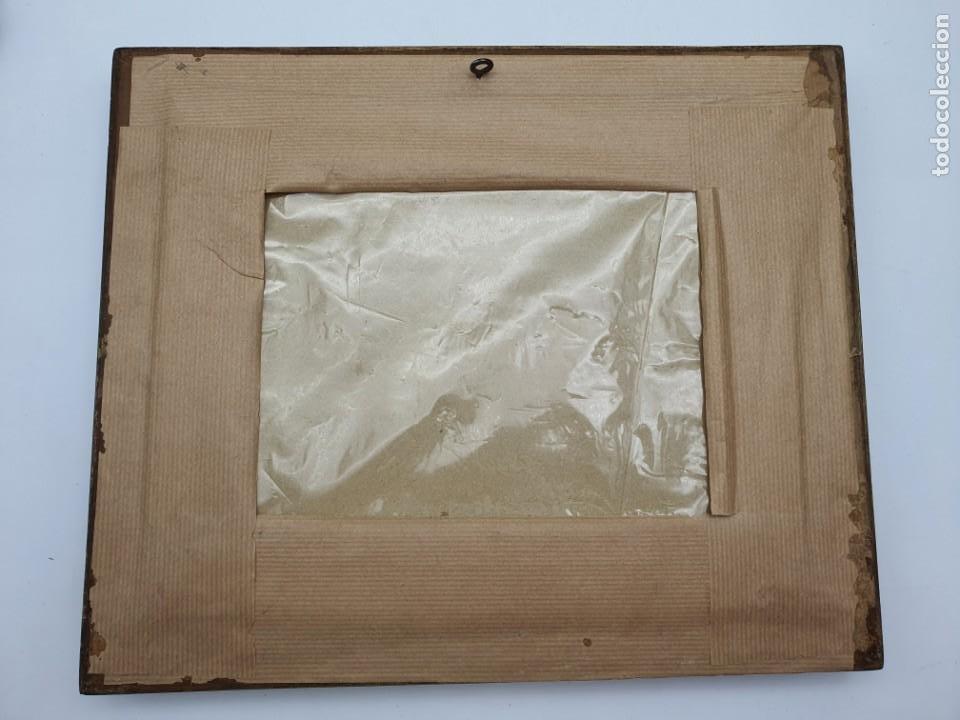 Varios objetos de Arte: CUADRO HECHO CON HILO DE SEDA - Foto 3 - 224725393