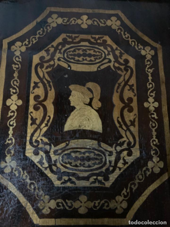 Varios objetos de Arte: Cuadro de marqueteria de boj - Foto 2 - 225165915