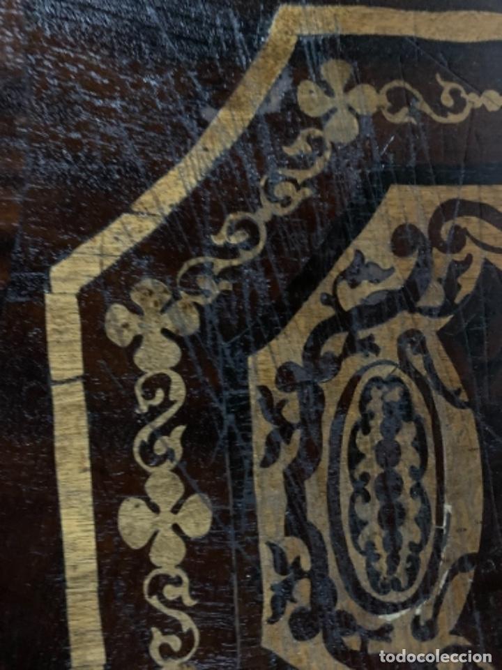 Varios objetos de Arte: Cuadro de marqueteria de boj - Foto 5 - 225165915