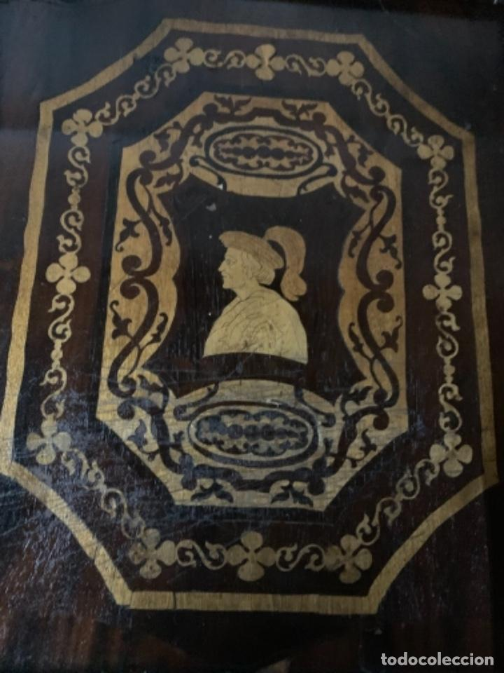 Varios objetos de Arte: Cuadro de marqueteria de boj - Foto 6 - 225165915