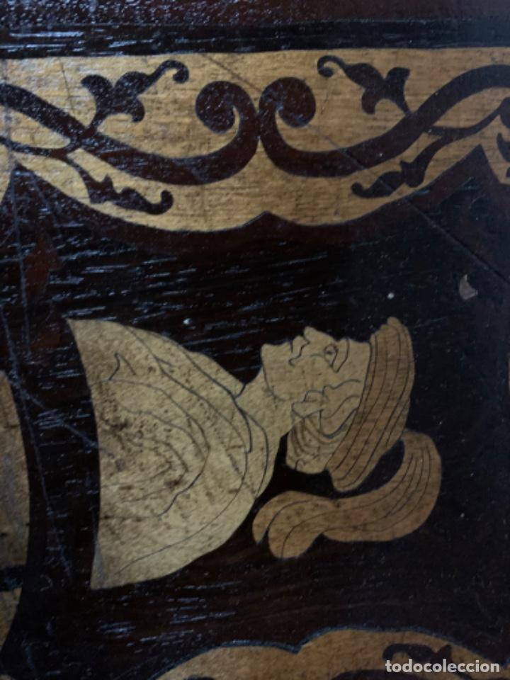 Varios objetos de Arte: Cuadro de marqueteria de boj - Foto 8 - 225165915