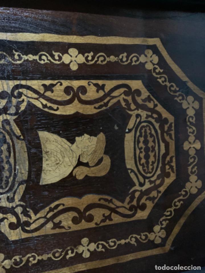 Varios objetos de Arte: Cuadro de marqueteria de boj - Foto 9 - 225165915