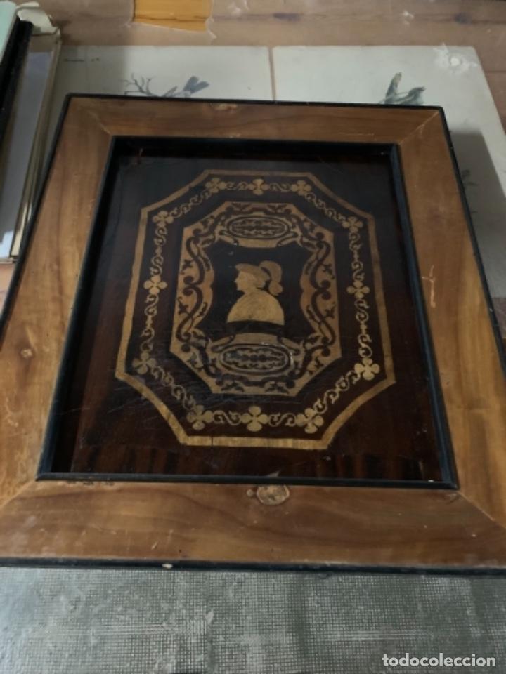 Varios objetos de Arte: Cuadro de marqueteria de boj - Foto 11 - 225165915