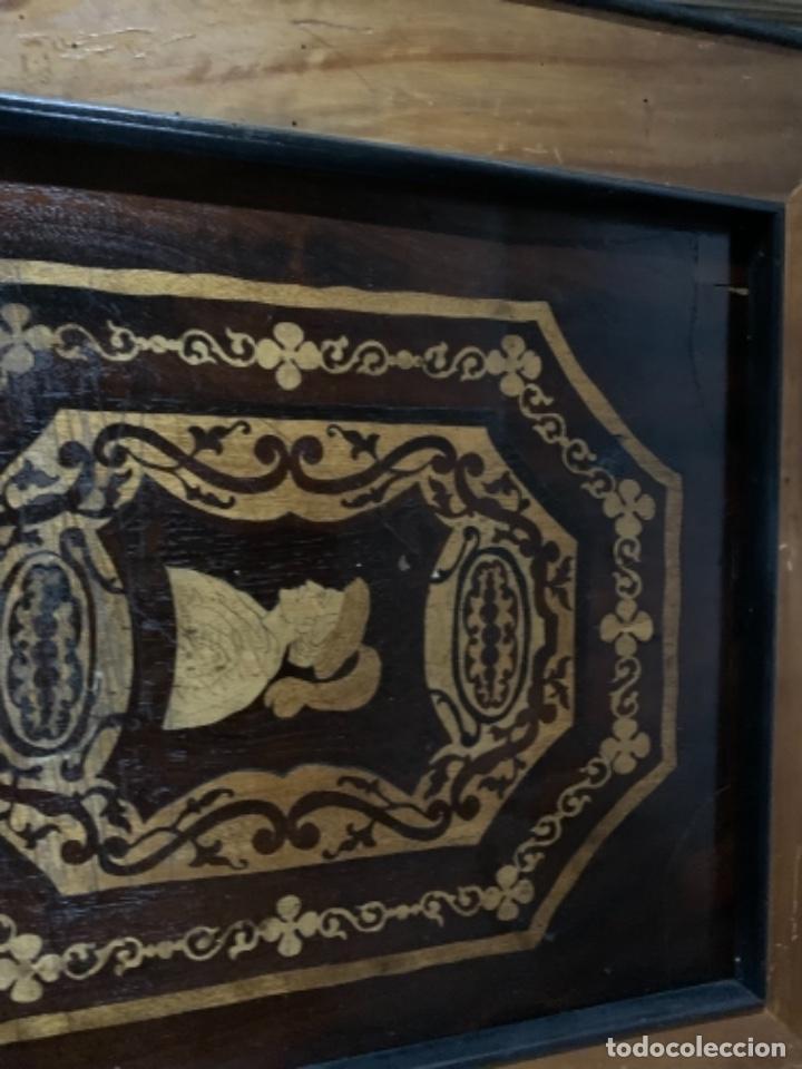 Varios objetos de Arte: Cuadro de marqueteria de boj - Foto 12 - 225165915