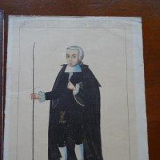 Varios objetos de Arte: LÁMINA, SEGURAMENTE DE PRUEBAS, DE TRUJILLO DEL PERÚ. Lote 225330835