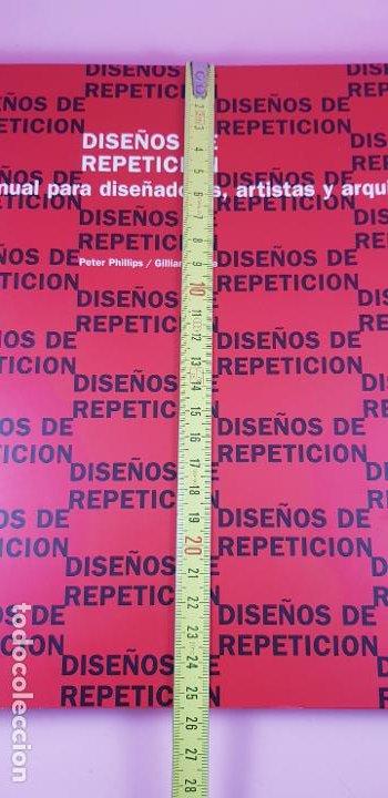 Varios objetos de Arte: LIBRO-DISEÑOS DE REPETICIÓN-MANUAL PARA DISEÑADORES,ARTISTAS Y ARQUITECTOS-PETER PHILLIPS-G.BUNCE - Foto 14 - 225921125