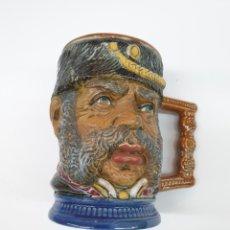 Varios objetos de Arte: PEQUEÑA JARRA DE 13 X 13, CERAMICA ITALIANA. CAPODIMONTI.PRECIOSA.. Lote 229685015