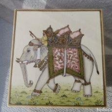 Varios objetos de Arte: LÁMINA DE MARFIL. Lote 229840205