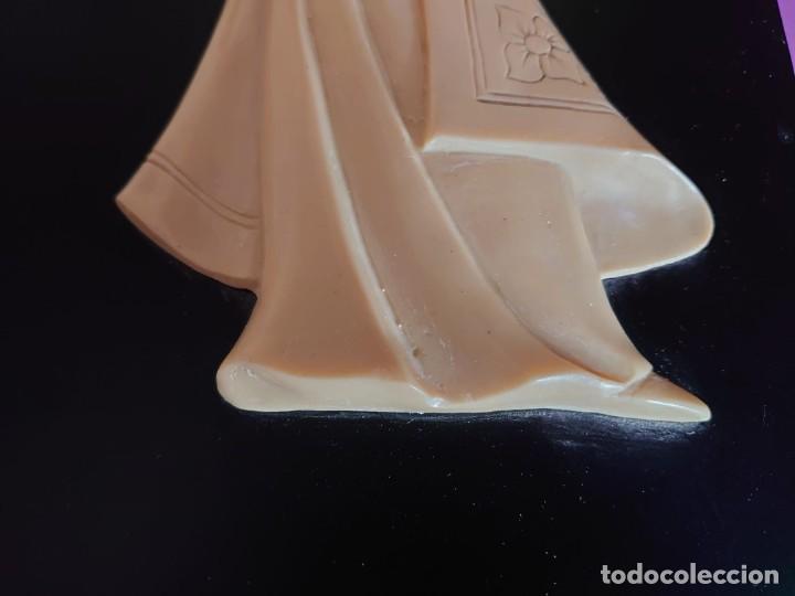 Varios objetos de Arte: CUADRO GEISHA MARFIL TALLADO - Foto 6 - 253064665