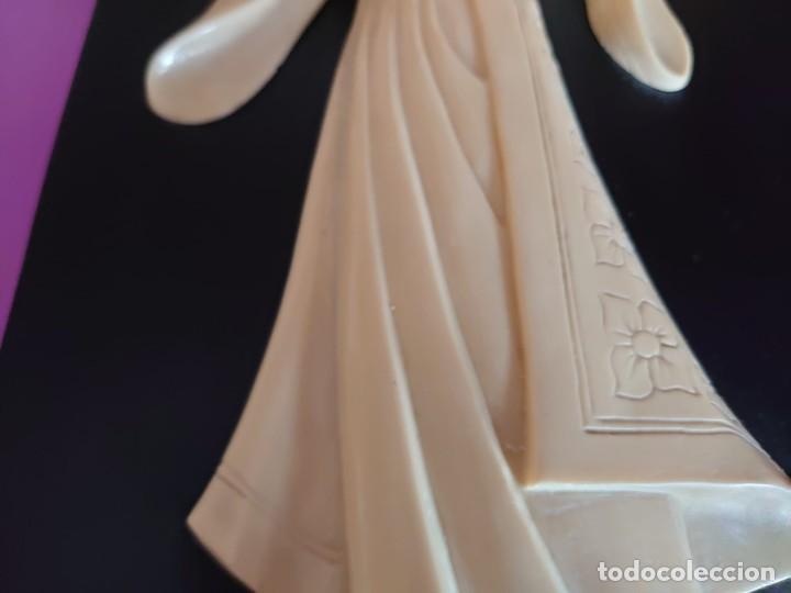 Varios objetos de Arte: CUADRO GEISHA MARFIL TALLADO - Foto 7 - 253064665
