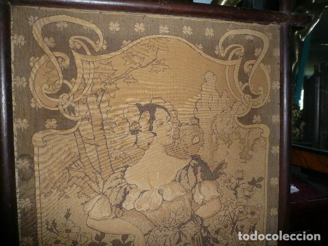 Varios objetos de Arte: Pareja de tapices modernistas. Principios del XX. - Foto 6 - 230358995