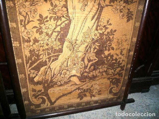 Varios objetos de Arte: Pareja de tapices modernistas. Principios del XX. - Foto 7 - 230358995