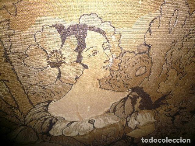 Varios objetos de Arte: Pareja de tapices modernistas. Principios del XX. - Foto 10 - 230358995