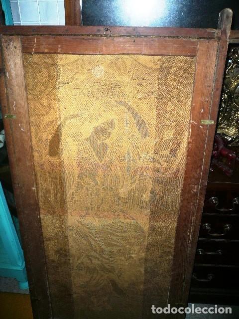 Varios objetos de Arte: Pareja de tapices modernistas. Principios del XX. - Foto 11 - 230358995