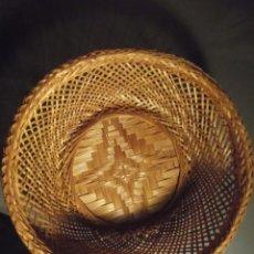 Varios objetos de Arte: CESTA DE MIMBRE 24 X 6. Lote 230771415