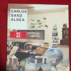 Varios objetos de Arte: LAMETRO CARLOS SANZ ALDEA EXPOSICIÓN 22/02/08 AL 11/04/08. Lote 232020105