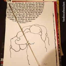 Varios objetos de Arte: POSTER CARTEL ORIGINAL MUNDIAL 82 ESPAÑA BILBAO COPA DEL MUNDO COLECCION POSTER FUTBOL ARTE. Lote 232073790