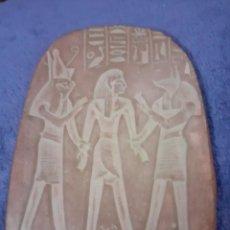 Varios objetos de Arte: PLAFON DE BARRO CODIDO REPRODUCCION EGIPCIA. Lote 233073860