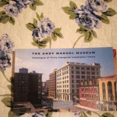 Varios objetos de Arte: THE ANDY WARHOL MUSEUM: CATALOGUE OF THIRTY INAUGURAL INSTALLATION VIEWS. Lote 233773270