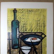 """Varios objetos de Arte: BERNARD BUFFET. """"EL DESAYUNO"""" 1955. IMPRESIÓN LITOGRÁFICA. NEW YORK GRAPHIC SOCIETY. 84 X 66 CM.. Lote 233898145"""