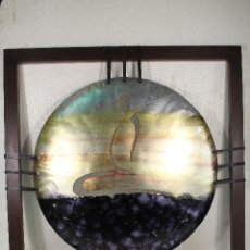 Varios objetos de Arte: CUADRO ÚNICO HECHO A MANO ES DE LA CARTERA DE DISEÑO DEL MÉDICO Y DISEÑADOR RAVI SINGH,. Lote 234176600
