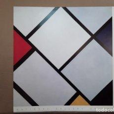 Varios objetos de Arte: MONDRIAN, PIET. POSTER NATIONAL GALLERY OF ART, WASHINGTON, CIRCA 1980. 68 X 68 CM.. Lote 234322910