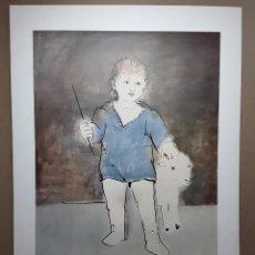"Varios objetos de Arte: PICASSO, PABLO. ""LITTLE SHEPHERD"". NEW YORK GRAPHIC SOCIETY. IMPRESIÓN LITOGRÁFICA 49,5 X 69,5 CM.. Lote 234485415"