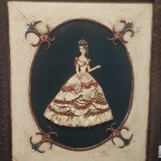 Varios objetos de Arte: CUADRO ARTESANO CON VOLUMEN,FIRMADO. Lote 234665075