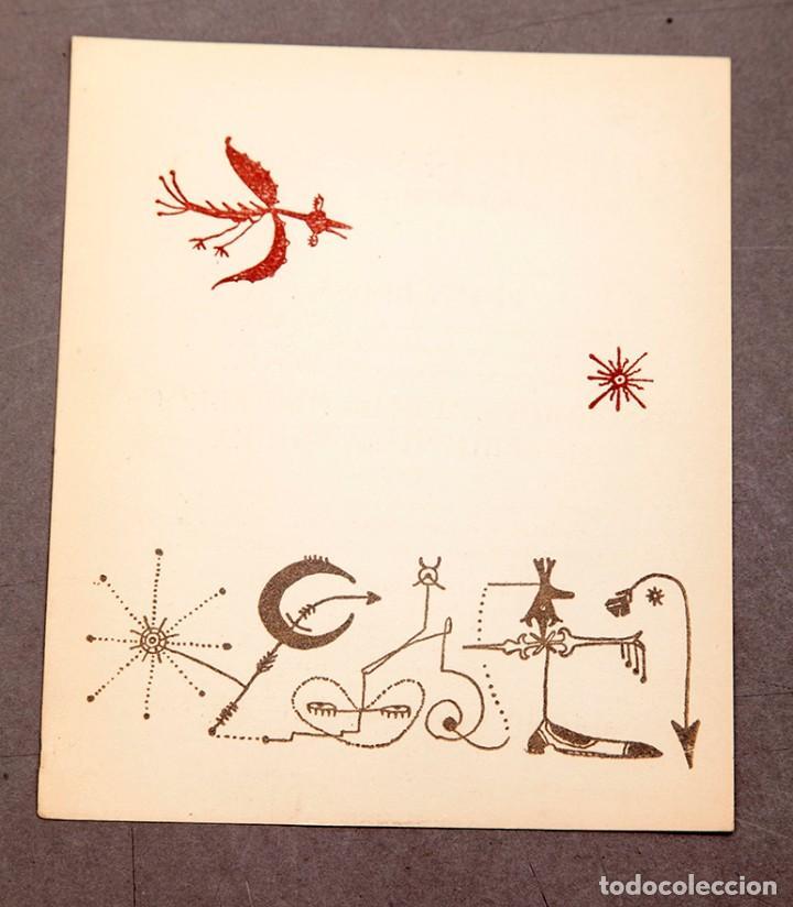 CLUB 49 - 1947 - BROSSA - ILUSTRACIÓN DE JOAN PONÇ (Arte - Varios Objetos de Arte)