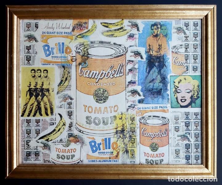 ANDY WARHOL PRINT ELVIS, CAMPBELLS, MARILYN MONROE, (Arte - Varios Objetos de Arte)