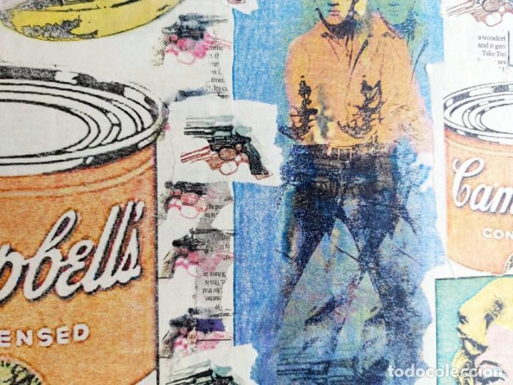 Varios objetos de Arte: Andy Warhol Print Elvis, Campbells, Marilyn Monroe, - Foto 2 - 236082190