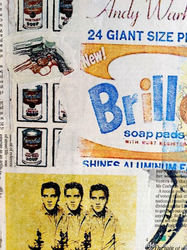 Varios objetos de Arte: Andy Warhol Print Elvis, Campbells, Marilyn Monroe, - Foto 3 - 236082190