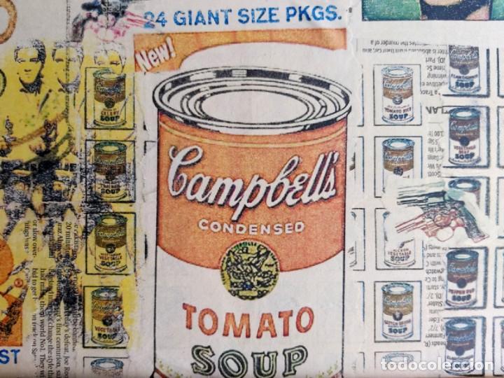 Varios objetos de Arte: Andy Warhol Print Elvis, Campbells, Marilyn Monroe, - Foto 4 - 236082190
