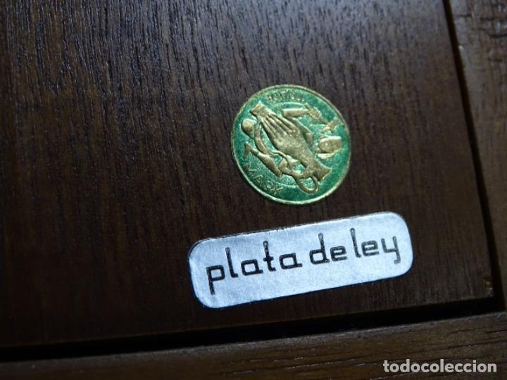 Varios objetos de Arte: ESMELTE DE SOROLLA EN MARCO CON FILO DE PLATA DE LEY Y MADERA. - Foto 8 - 236800555