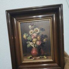 Varios objetos de Arte: CUADRO PINTADO EN TABLEX ENMARCADO. Lote 237598995