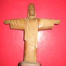 Varios objetos de Arte: ANTIGUO CRISTO TALLA DE MADERA ENVIO GRATUITO. Lote 237715065