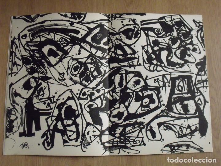 Varios objetos de Arte: Correo de las Artes. 32. Junio-Julio 1961. Sin paginar. Portada y pochoir de Antonio Saura. - Foto 2 - 188732023