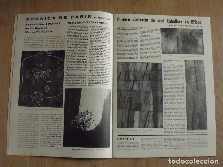 Varios objetos de Arte: Correo de las Artes. 32. Junio-Julio 1961. Sin paginar. Portada y pochoir de Antonio Saura. - Foto 3 - 188732023