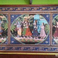 Varios objetos de Arte: CUADRO ESTAMPADO EN TELA. Lote 238615450