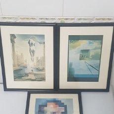 Varios objetos de Arte: 3 CUADROS DE REPRODUCIONES. Lote 238627560