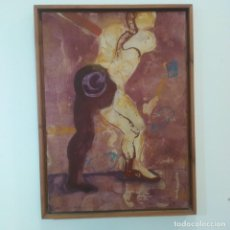 Varios objetos de Arte: GABRIEL ALONSO. PINTURA PROCEDENTE DE COLECCIÓN PARTICULAR. Lote 238755265