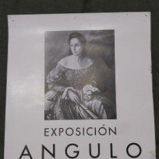 Varios objetos de Arte: CARTEL EXPOSICIÓN ANGULO. SALA BARCINO 1941. Lote 239691535