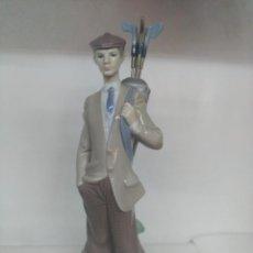 Varios objetos de Arte: FIGURA PORCELANA J GOLF LLADRO. Lote 239758765