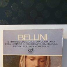 Varios objetos de Arte: BELLINI/ 12 TRANSPARENCIAS EN COLOR CON COMENTARIOS/ CODEX/ (REF.CAJA-PAPEL-NIKE). Lote 239992725