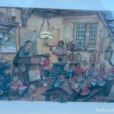 Varios objetos de Arte: EXTRAORDINARIO CUADRO DE ANTON PIECK. -ESCUELA-, MULTITUD DE ENCANTADORES DETALLES... LEER MAS. Lote 240903040