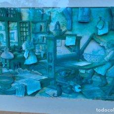 Varios objetos de Arte: EXTRAORDINARIO CUADRO DE ANTON PIECK. -IMPRESOR O GRABADOR-, MULTITUD DE DETALLES... LEER MAS. Lote 240903785