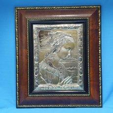 Varios objetos de Arte: CUADRO - BAJORRELIEVE CON BAÑO DE PLATA 925/000 - ZETA ESTUDIO DE ARTE. Lote 242459905