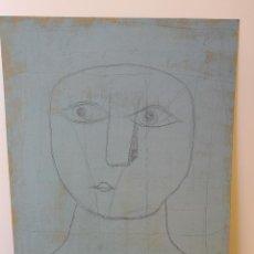 Varios objetos de Arte: OBRA DE ARTE ORIGINAL STEVEN MANLEY AKA JAUME SERRA ACRILICO SOBRE TABLERO RETRATO CUBISTA. Lote 244102130