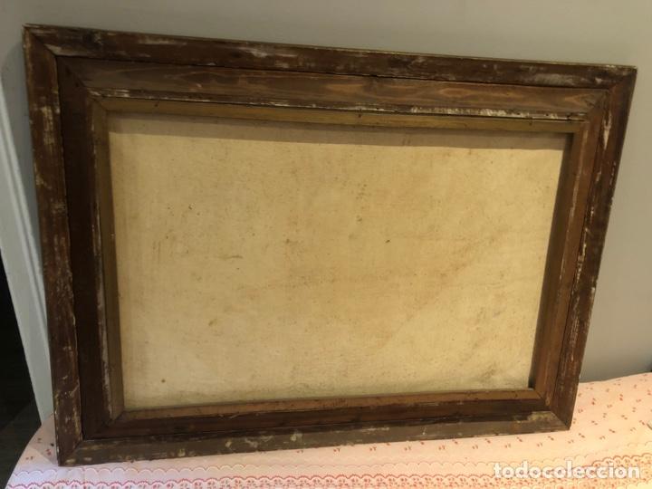 Varios objetos de Arte: Antiguo cuadro con imagen - Foto 2 - 245266415